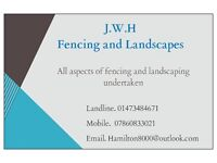 J.W.H Fencing and Landscapes