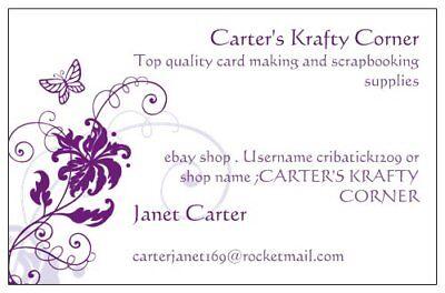 CARTER'S KRAFTY CORNER
