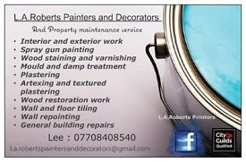 L.A.Roberts Painters and Decorators and Property Maintenance Service