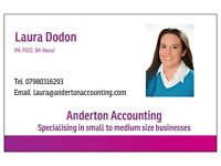 Anderton Accounting - Specialising in small to medium-sized businesses, saving both time and money