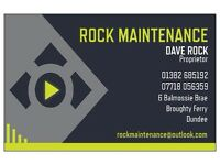 "ELECTRICIAN-OVER 30 YEARS EXPERIENCE. Need a job done? Get ""ROCKIN"""