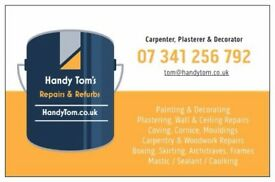 Local Carpenter, Painter and Decorator - Carpentry, Painting & Decorating Rooms - Cheap Services