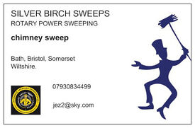 Silver Birch Sweeps. Chimney Sweep. Rotary Power system, fully insured.Clean as a whistle.
