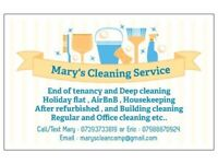 End of Tenancy Cleaning ,Deep Cleaning , Air BnB ,Housekeeping, Office Cleaning .We Open 7 Days