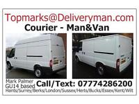 *Man and Van Hire* Sofa Wardrobe Sideboard Dresser Table Bed Fridge Pine Leather Corner Shabby Chic