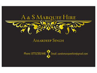 A & S MARQUEE HIRE