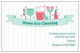 Providing a greener cleaning service for your home