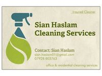Domestic & Commercial Cleaning (Insured Cleaner)