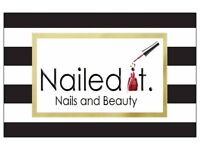 Nailed it nails & beauty Mobile therapist providing Nails & Beauty treatments within your home