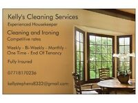 Kelly's Cleaning Services