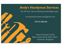 Moray Handyman Services For All Your Property Maintenance Jobs