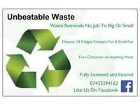 Unbeatable Waste (Waste Removals, Free Metal Collection & Man And a Van Service)