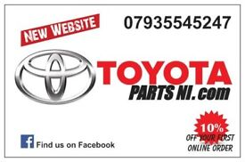 Toyota Parts NI for spares damaged export salvage parts alloys tyres used/new