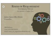 James Sussex - Sheffield Integrative Counsellor, S1