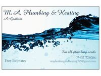 M.A plumbing and heating