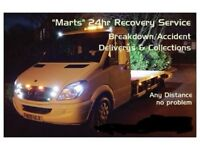 24Hr Car Recovery & Breakdown Service (Full Recovery Insurance)