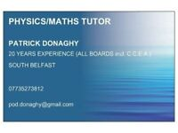 Physics, Science and Maths Tutoring Service in South Belfast and Beyond