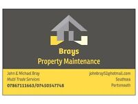 Brays Property Maintenance: Qualified tradesman covering multitrades large and small