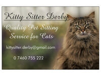 Kitty Sitter - Quality pet sitting service especially for cats