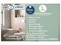 JWS Plumbing Services and Central Heating Maintenance, Tiling, Plumber, Bathroom, kitchen Fitting