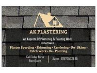 AK PLASTERING
