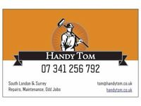 Handy Tom - Property Repairs, Maintenance, Odd Jobs - No Job Too Small - Local Handyman Services