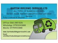 Any rubbish removal, Builders/Commerical/Retail/House/Garage clear and clean service- Gtr Manchester