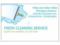 FRESH CLEANING SERVICES. New clients required