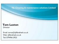 TJL Cleaning and maintenance solutions