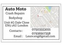 accident crash repair auto moto bodyshop