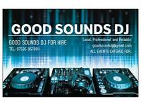 """GOOD SOUNDS DJ"" PROFFESIONAL MOBILE DJ'S FOR HIRE ON SOUTH SIDE GLASGOW"