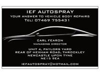 Vehicle Body Repairs, Resprays and Restorations - North East England