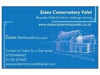 Essex Conservatory Valet, Bespoke clean & interior redesign service
