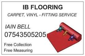 IB FLOORING - carpet & vinyl fitting. 07543505205