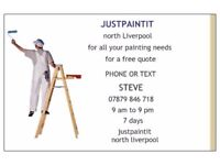 Semi-retired PAINTER over 30 years experience,no job too small,FREE NO obligation quotes