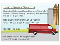 Low Cost Man & Large Van 07732 190 317!
