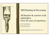 TJM Painting & Decorating
