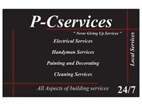 Handyman Services, All Aspects/London/Free Inspections/Free Estimates/Hourly Rates/Local/24-7