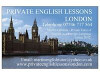 PRIVATE ENGLISH LESSONS IN LONDON!