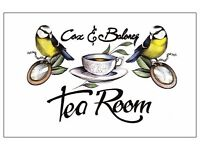 Tearoom/Bar - Managerial position