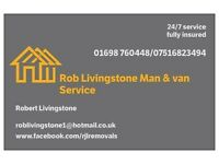 Man & Luton van for hire - Full Removal Service