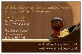 Ettrick Joinery & Handyman Services