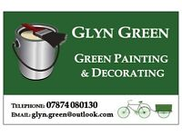 Green Painting & Decorating - high quality work, £100 day rate