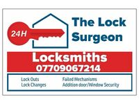 The lock surgeon , Locksmiths , locksmiths in leeds , emergency locksmiths ,