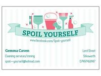 Cleaning services/Ironing services