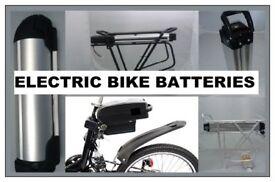 Electric Bike Batteries SERVICE Giant Wisper Cyclamatic Viking Freego Urbanmover A2B Izip