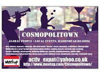 Cosmopolitown Maidenhead-Reading: Local Events, Global Mates