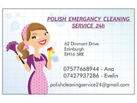 POLISH EMERGENCY CLEANING SERVICES 24H - ALL EDINBURGH