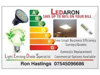 LED Light Bulbs Panels-Shop Fronts Window Displays
