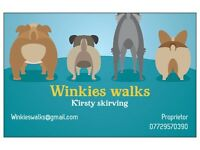 dogwalker/petsitter winkies walks